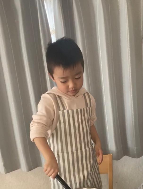 6歳児の3分クッキング(ピザパンの作り方)🍕(#9)