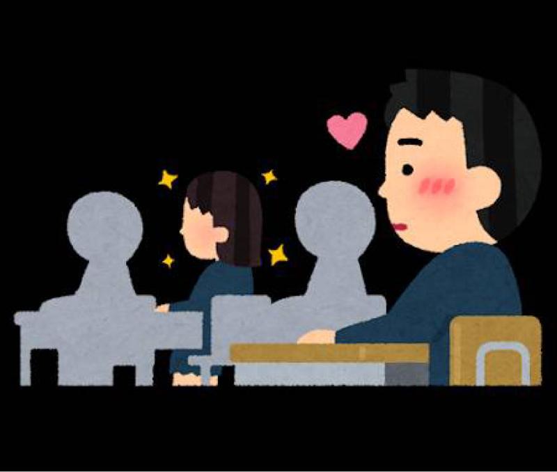 【グダグダ】好きな人にぐいぐい行ける?