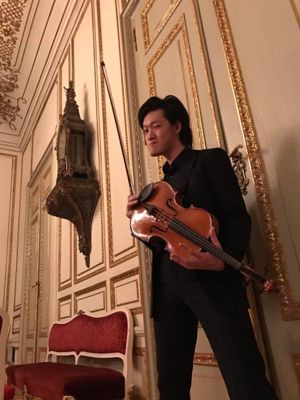 #17 同級生とゆるりトーク《ウィーンの街並みと作曲家のエピソード》ゲスト:橋本和樹(ヴィオラ)