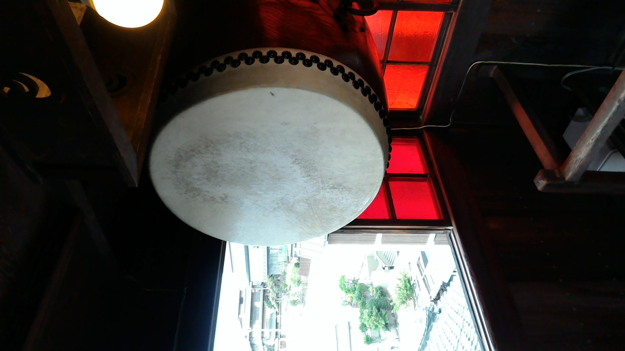 #104 道後温泉本館から刻太鼓が12時をお知らせします