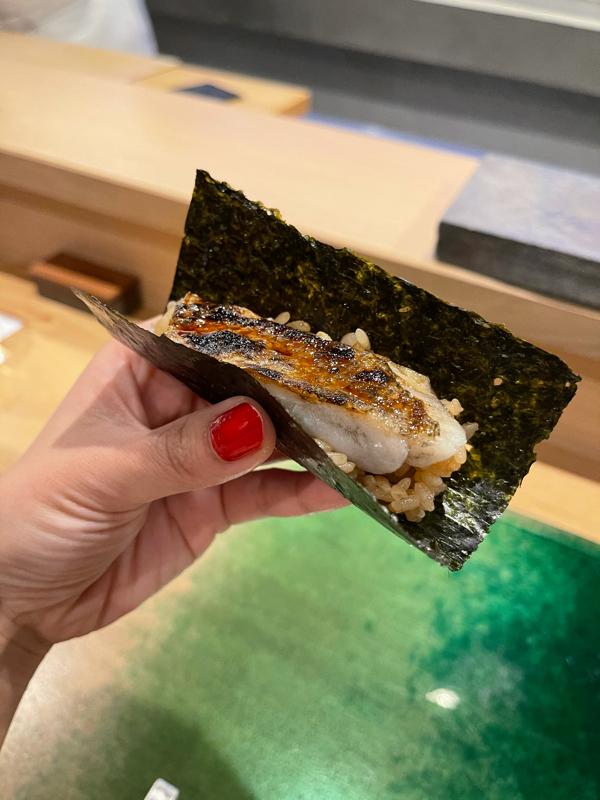 雑談タイム#お寿司と3人組と私