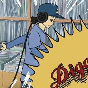 第1回目 円盤 diggerミュージック