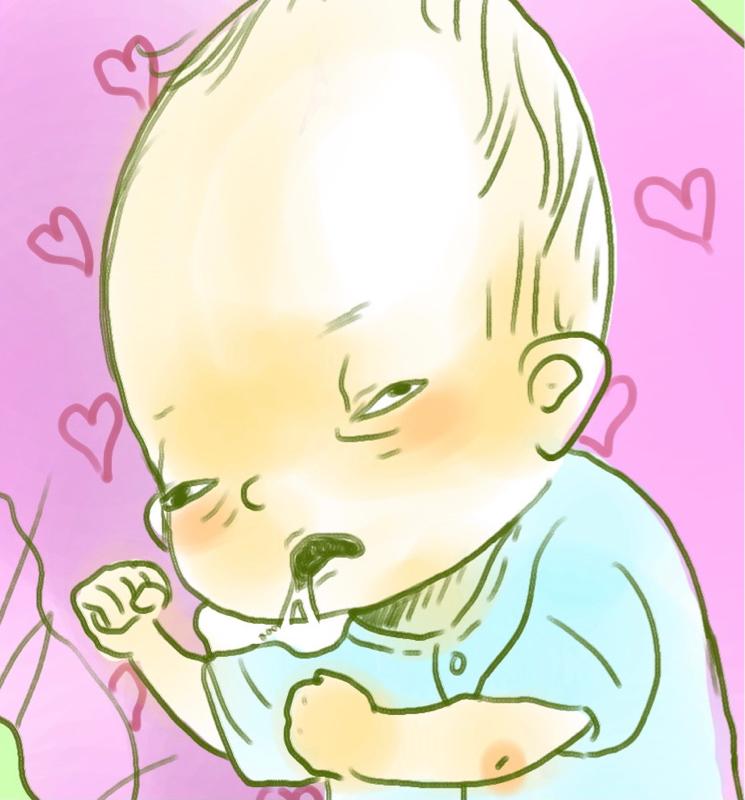 2ヶ月男児の独り言