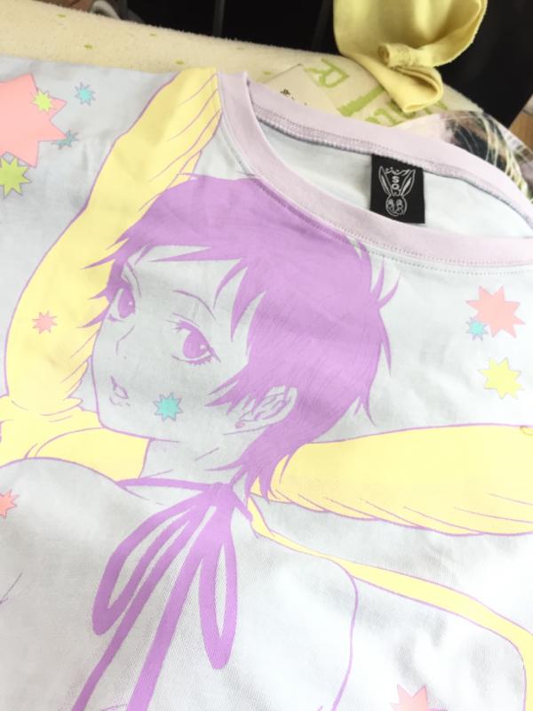 リナリーのTシャツが当たりました!!