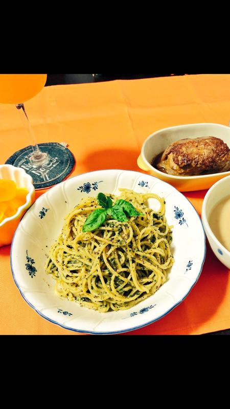 お料理トーク5~自家製バジルのジェノベーゼ~