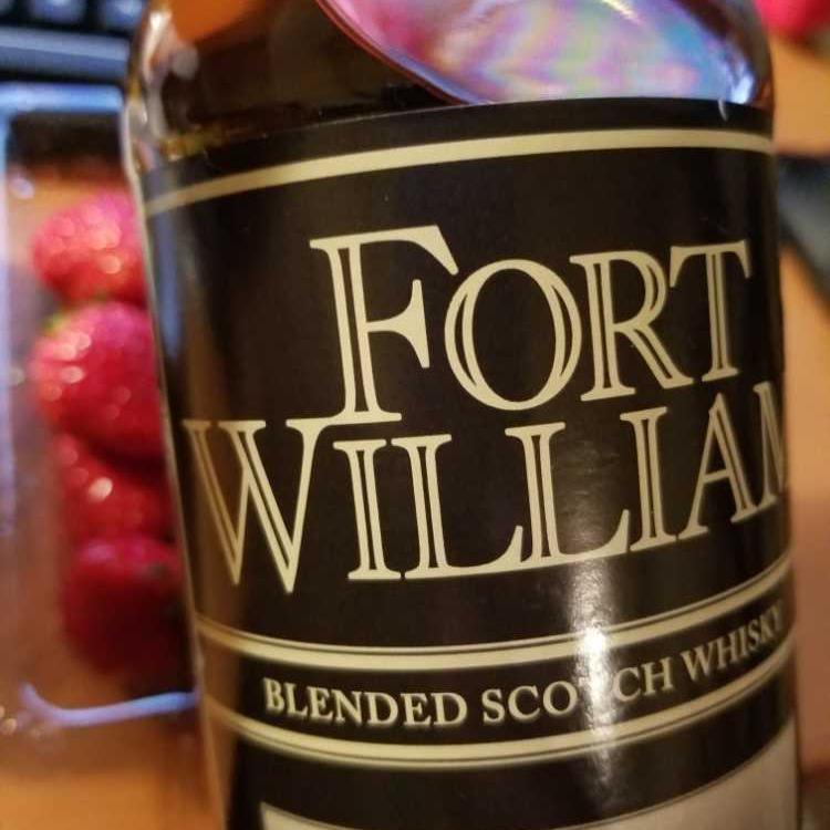 スコッチウイスキー FORT WILLIAM 7杯目