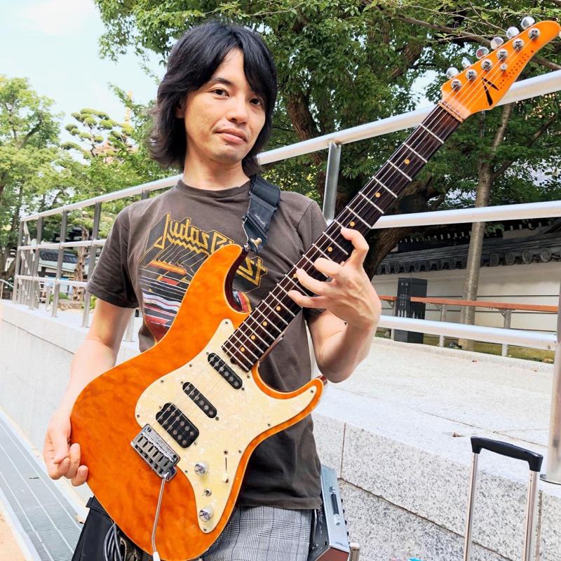 第5回 ゲスト ギター講師etc...音楽を中心に活動されている こけやまこうすけさん