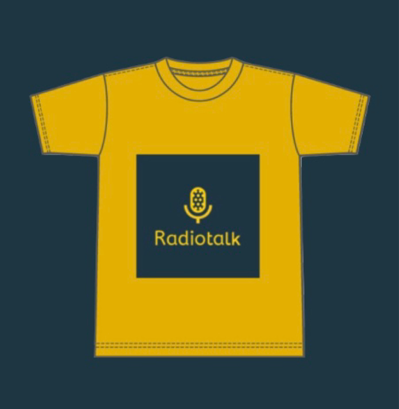 【7/31まで】「RadiotalkオリジナルTシャツ(2色)」を5日限定販売します【特典あり】