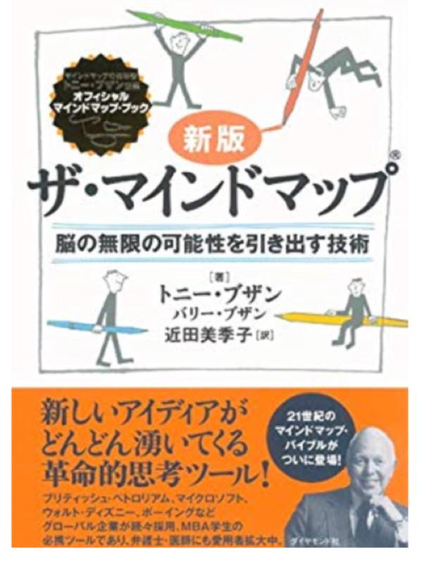4冊目 マインドマップの書き方が分かる本
