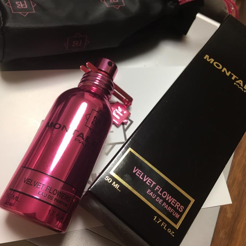 今日の香り「MONTAL Paris」ベルベットフラワー