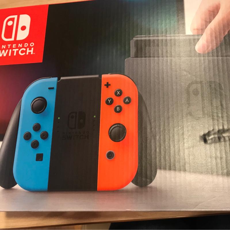 ゲーム初心者🔰Nintendo Switchを開封します!