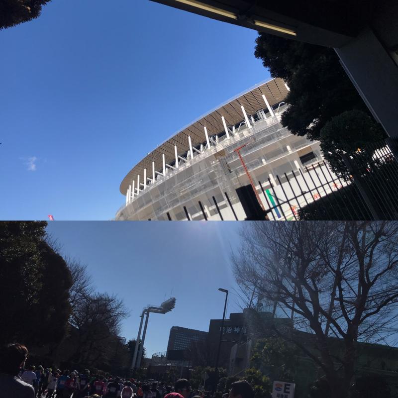 新宿シティハーフマラソン 10キロスタート