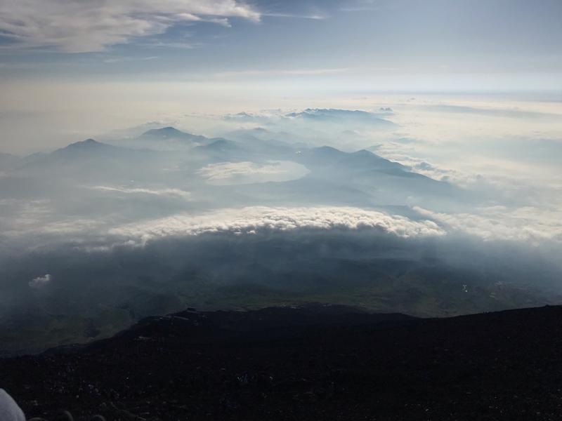 富士山登ったどーー!!!!