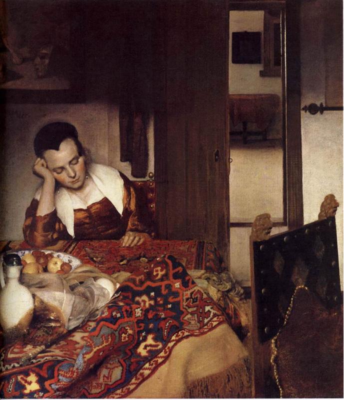 フェルメール第22回「眠る女」