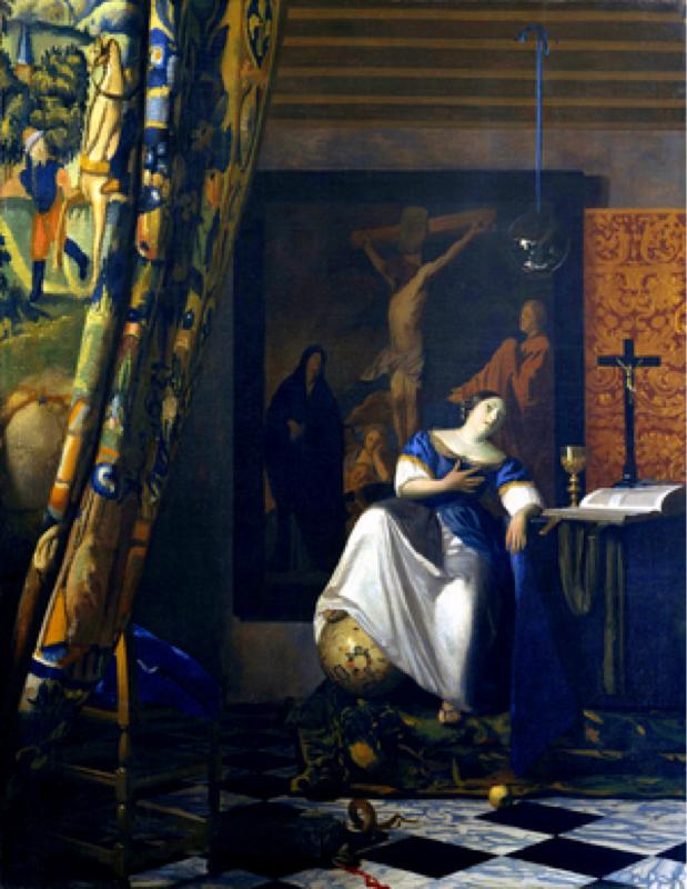 フェルメール第23回「信仰の寓意」について