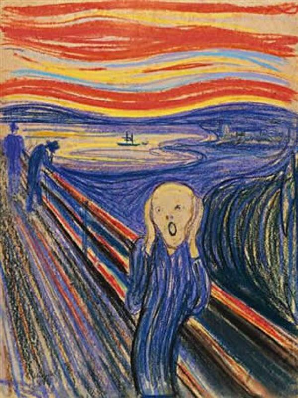 ムンク第25回「叫び」について。