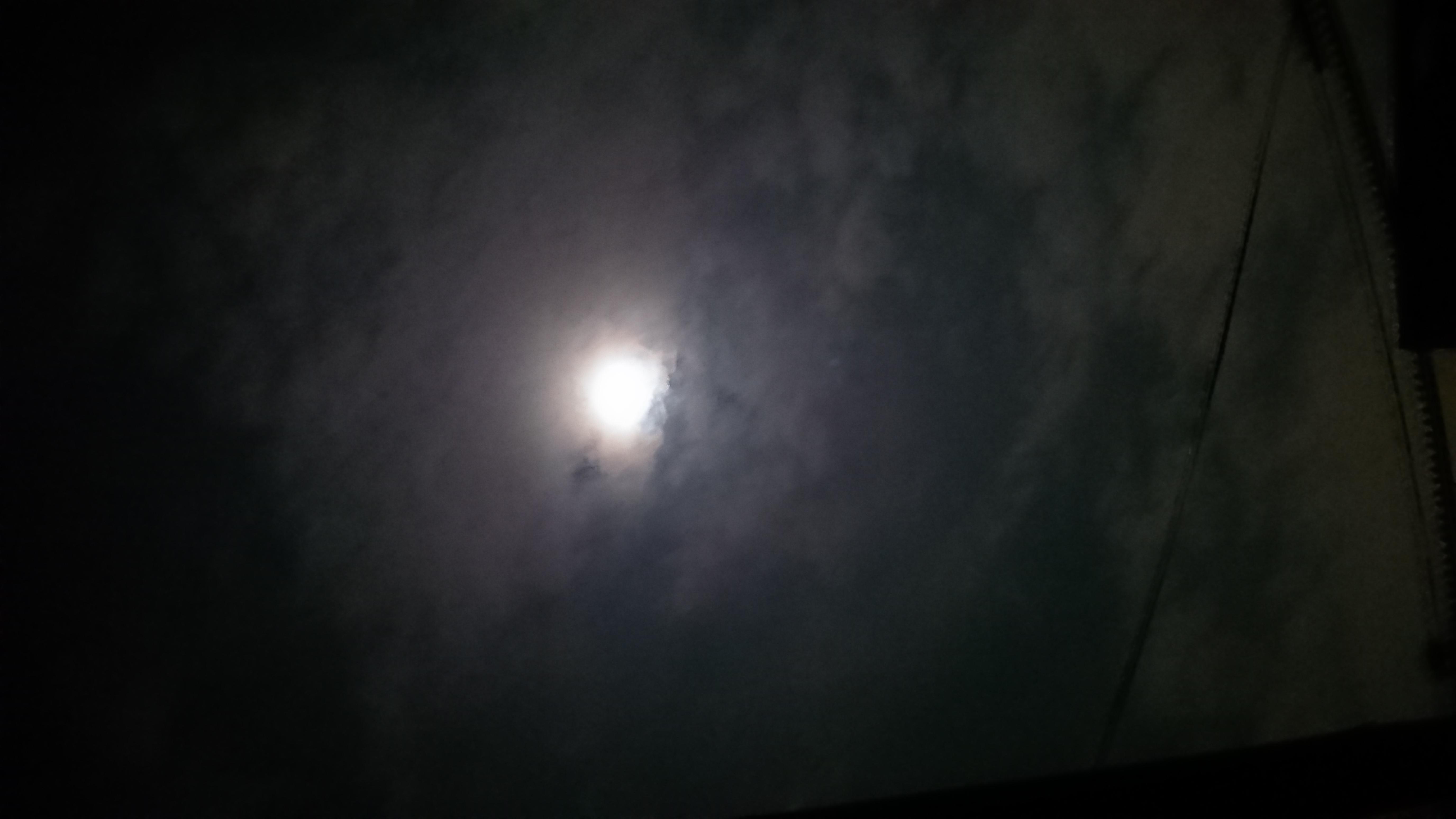 #20 午前1時。深夜の夜空