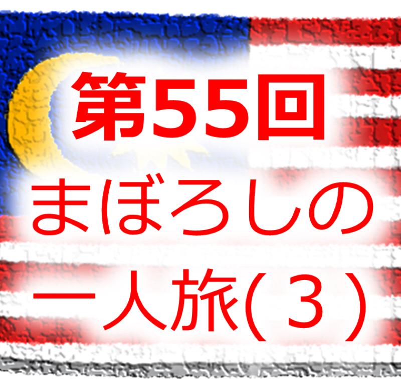 #055 幻のアジア一人旅(3):マレーシアのジョージタウン/50歳を過ぎて安宿に泊まっていいのか