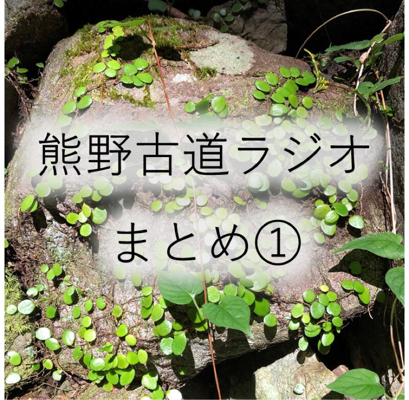 #140 【熊野古道ラジオ】まとめ(1):なぜ熊野古道?/悟りは開けたのか?/観光客の数は?