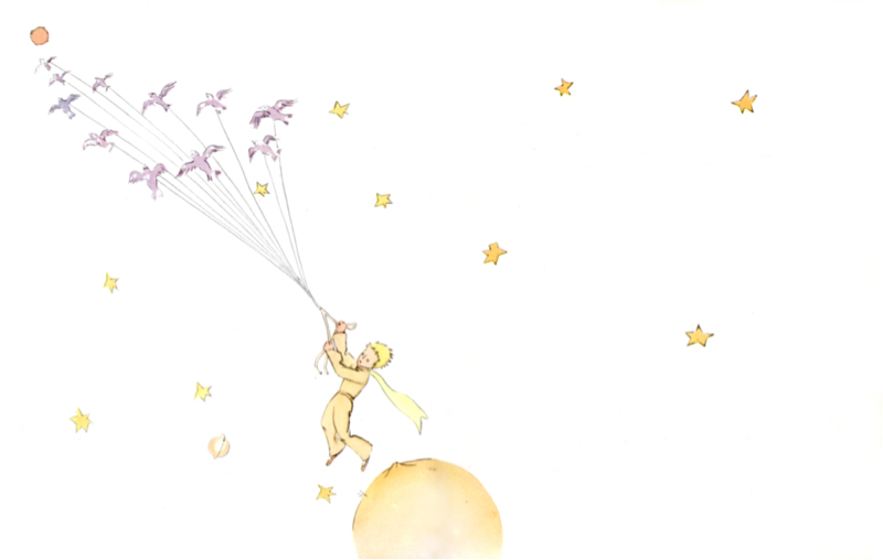 星の王子さまを夢想する