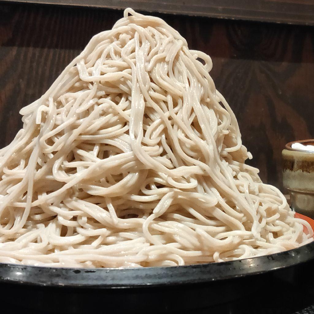 【フリートーク】おっさんvs蕎麦1kg