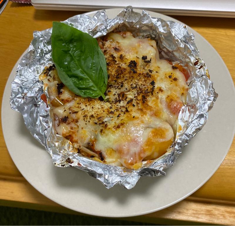 その料理何変化目❓12分クッキング【チキンのトマトオーブン焼き】&【ミネストローネ】