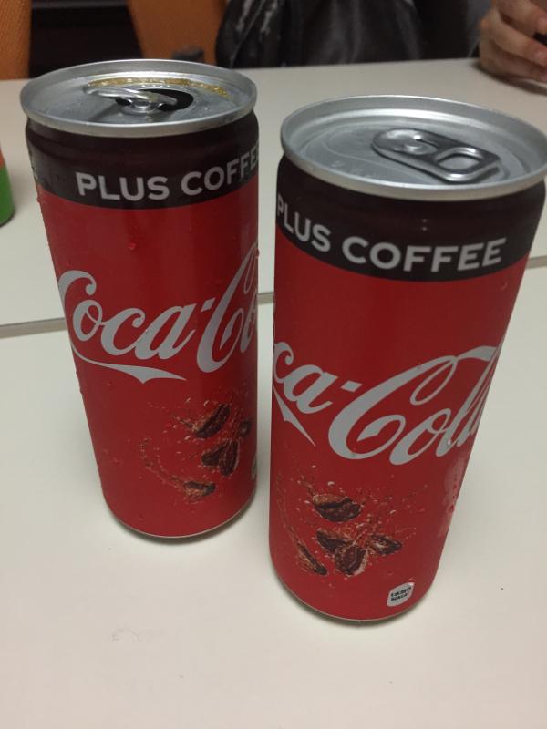 コカコーラプラスコーヒー