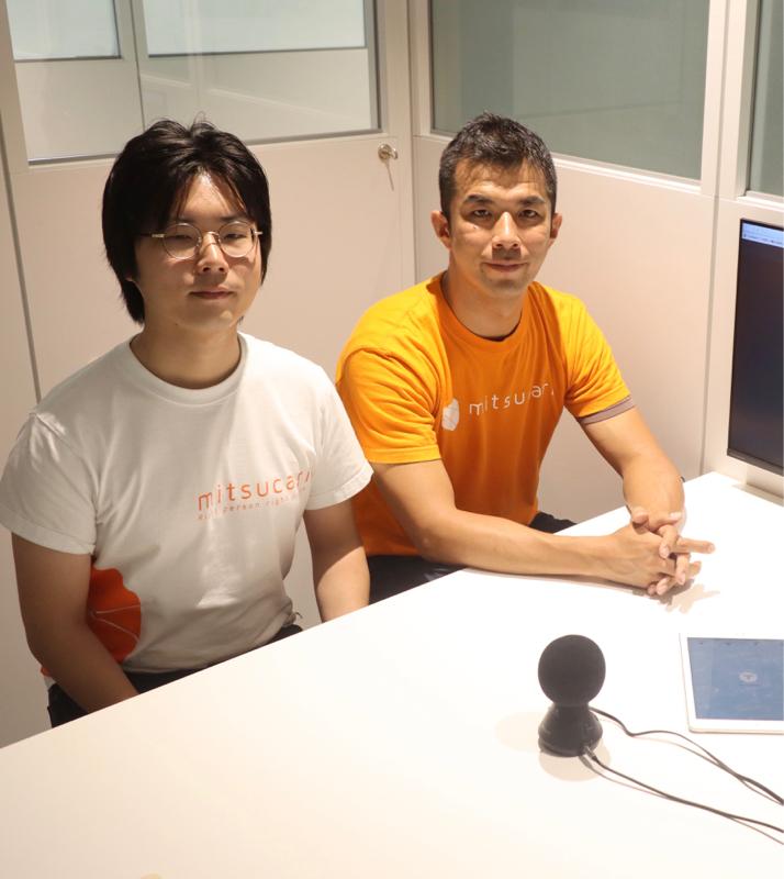 エンジニア出身の広報 山口さんもラジオ初出演!