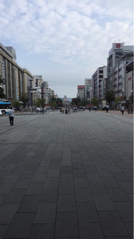 141日目8月22日目のm-wave「おはよう姫路城」