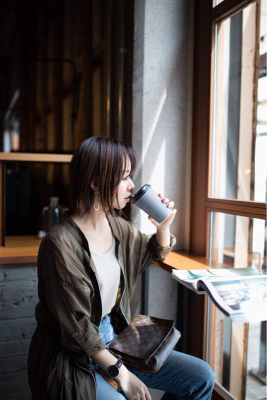 #02 尾道撮影、広島パーソナルスタイリストの宮本彩さんの撮影で「綴る。」にお立ち寄り。