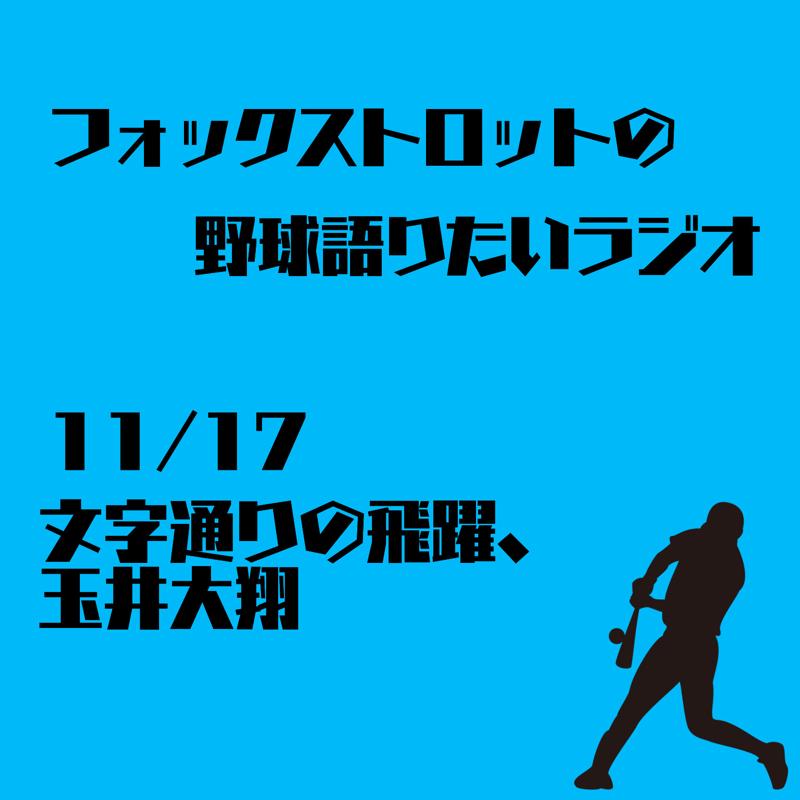 11/17 文字通りの飛躍、玉井大翔