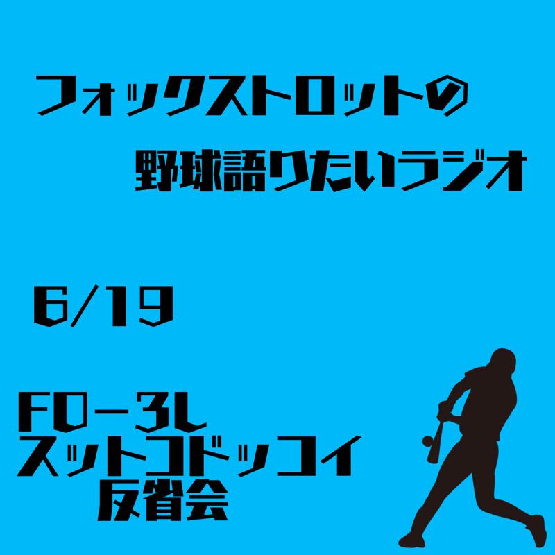 6/19  F0−3L  スットコドッコイ反省会