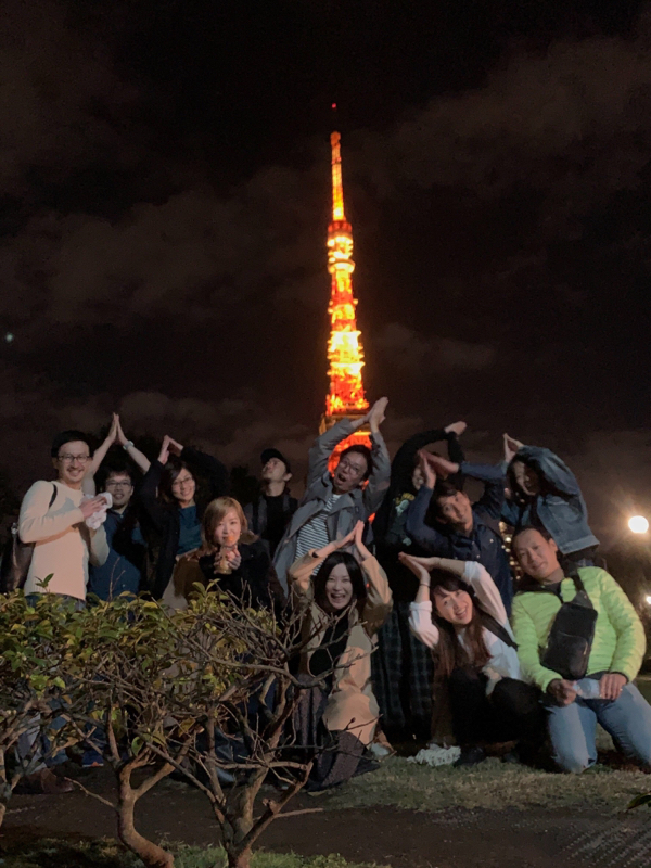餃子の会と東京タワー
