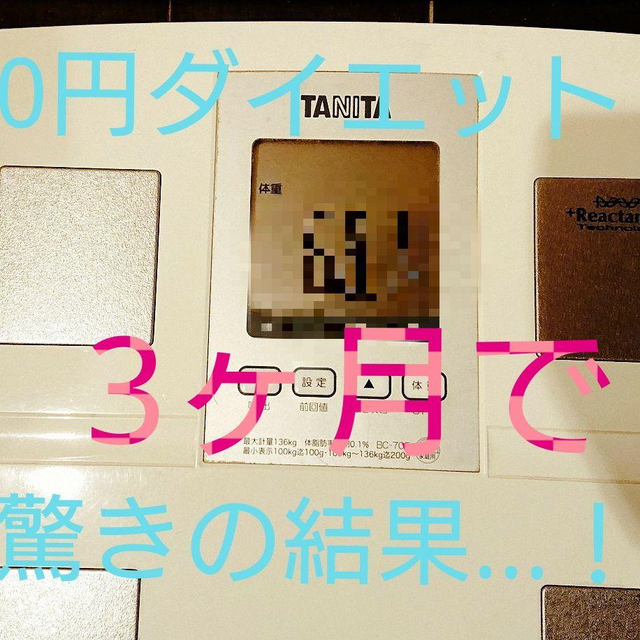 【過去回】0円ダイエット企画!3ヶ月の成果!衝撃の結果...