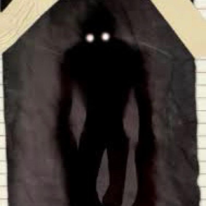#5 母親を追いかける黒い人影。