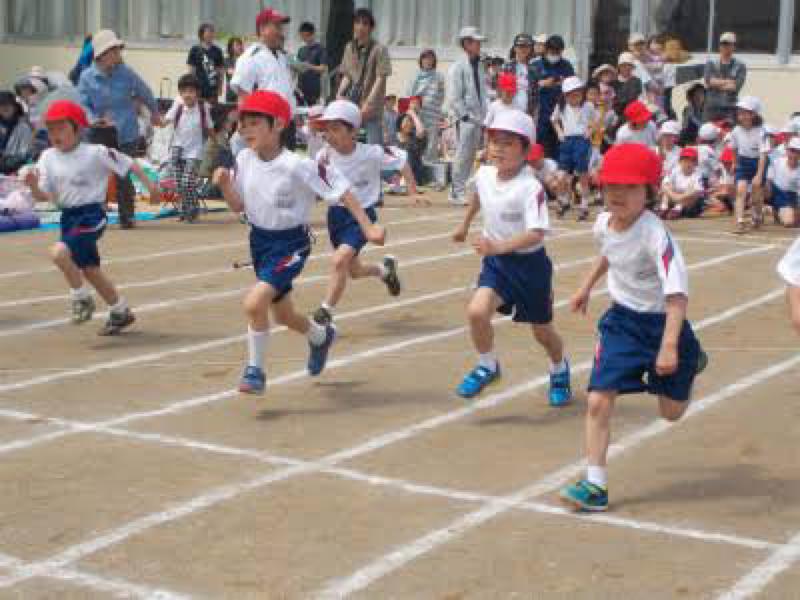 徒競走にチャレンジ制度導入
