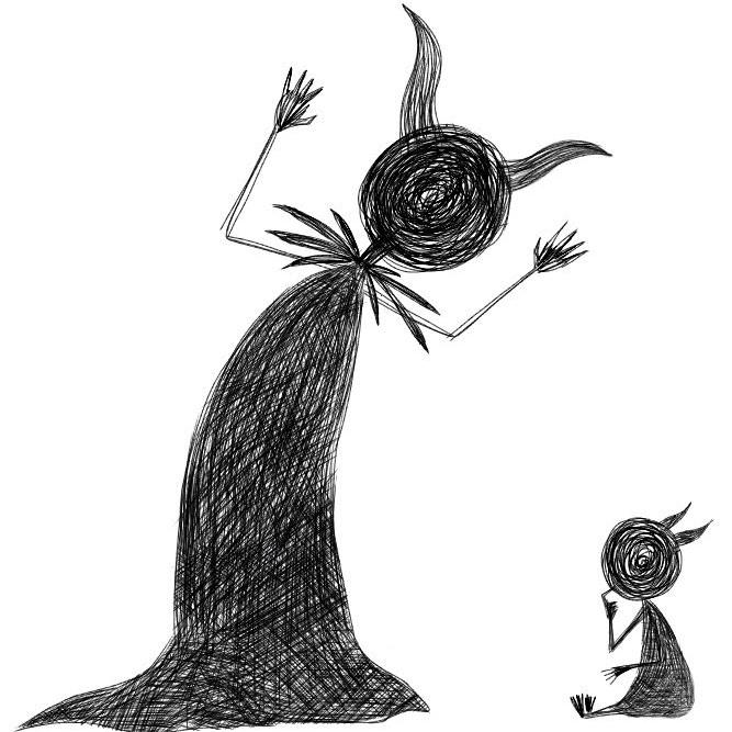 【創作】大きな魔法使いと小さな魔法使い