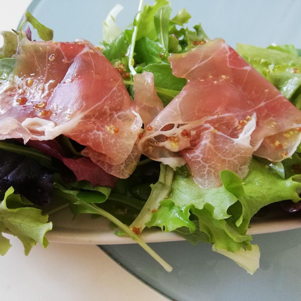 【キッチンASMR 】サラダとエッグフライ